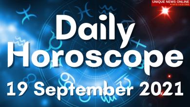 Daily Horoscope: 19 September 2021, Check astrological prediction for Aries, Leo, Cancer, Libra, Scorpio, Virgo, and other Zodiac Signs #DailyHoroscope