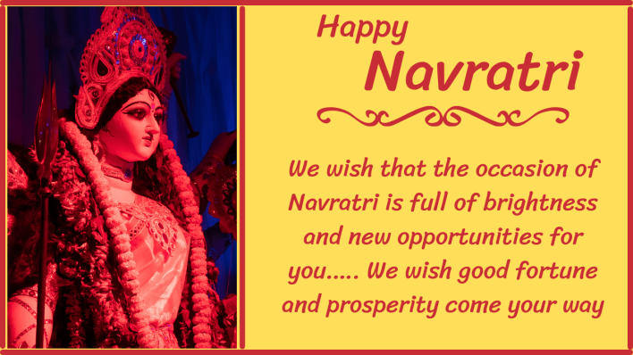 Sharad Navratri 2021 Wishes for Business