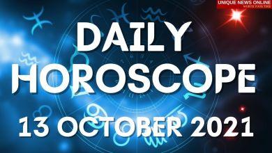 दैनिक कुंडली: 13 ऑक्टोबर 2021, मेष, सिंह, कर्क, तुला, वृश्चिक, कन्या आणि इतर राशींसाठी ज्योतिषीय अंदाज तपासा #DailyHoroscope