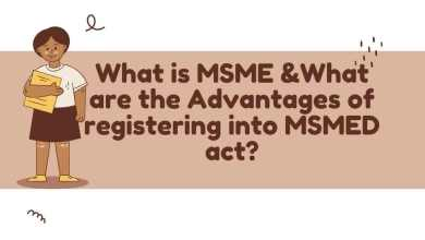 What is MSME, What are the Advantages of registering into MSMED act?