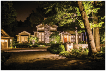 does outdoor landscape lighting cost