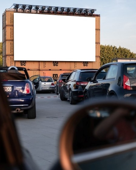 Drive-in Cinema in the Philippines