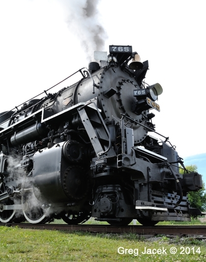 Nickel Plate Road 765 Low Angle