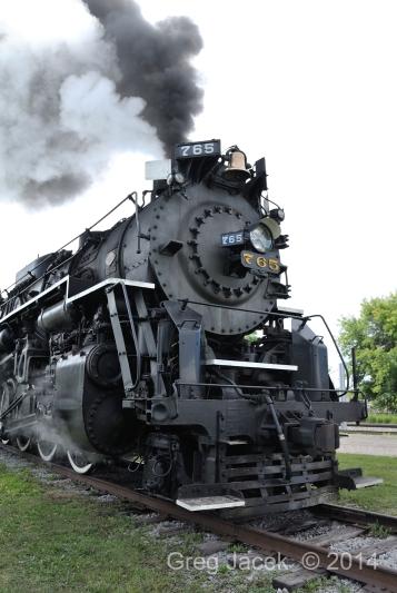 Nickel Plate Road 765 Train Expo 2014