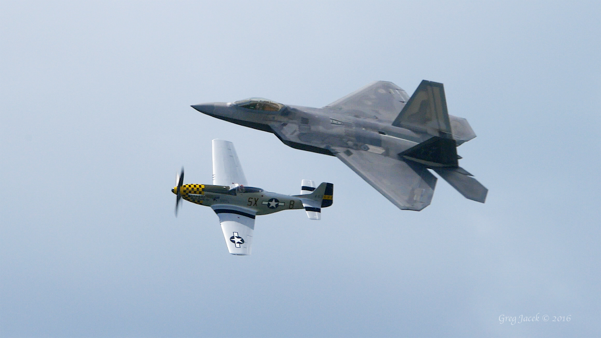 ACC F-22 Raptor Demo Team Featured my Video on Their Official Facebook Page!