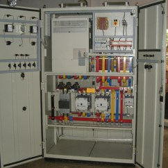 Wiring Diagram For Star Delta Motor Starter Castle Worksheet Automatic Synchronizing Panel Gensets Specialized Electrical Vfd With Bypass Fasd