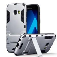 Terrapin Ανθεκτική Θήκη με Stand Samsung Galaxy A3 2017 - Silver (131-002-038)