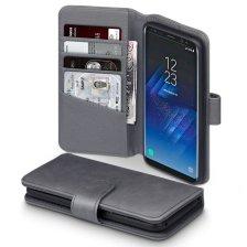 Terrapin Δερμάτινη Θήκη Πορτοφόλι Samsung Galaxy S8 - Grey (117-002-980)