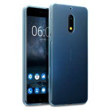 Terrapin Θήκη Σιλικόνης Nokia 6 - Blue (118-001-230)