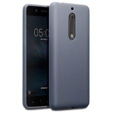 Terrapin Θήκη Σιλικόνης Nokia 5 - Grey Matte (118-001-238)