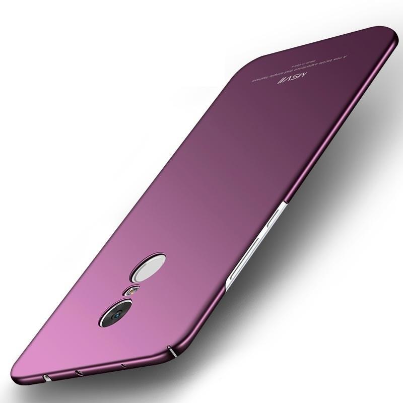 MSVII Super Slim Σκληρή Θήκη PC Xiaomi Redmi Note 4X / Redmi Note 4 (Snapdragon Global Version) - Purple (G2-01a)