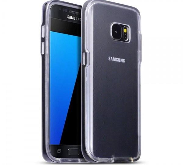 Terrapin Διάφανη Θήκη Σιλικόνης με Bumper Samsung Galaxy S7 (136-002-038)