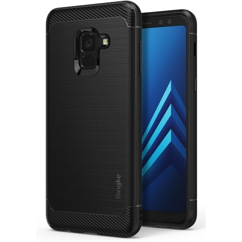 Ringke Onyx Θήκη Samsung Galaxy A8 2018 - Black (12285)