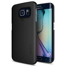 Spigen Θήκη Thin Fit Samsung Galaxy S6 Edge - Smooth Black (SGP11562)