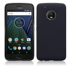 Terrapin Θήκη Σιλικόνης Motorola Moto G5 Plus - Black Matte (118-003-035)