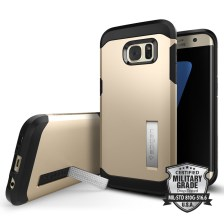 Spigen Θήκη Tough Armor Samsung Galaxy S7 Edge - Champlagne Gold (556CS20044)