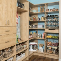 Kitchen Pantry Storage Cabinets Organization Calgary Custom Systems Secret Modern