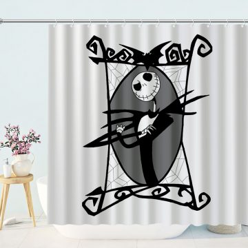 black and white shower curtain archives