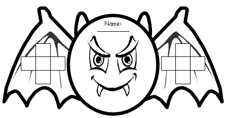 halloween bats bulletin board