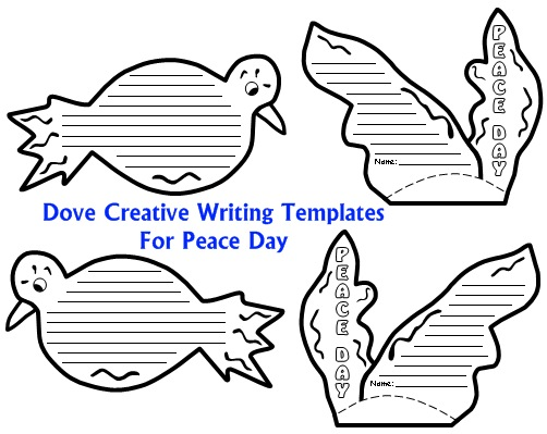 Peace Dove Template
