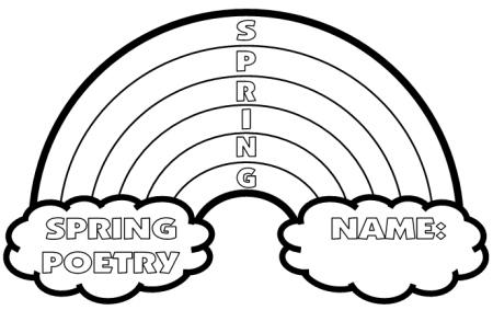 Spring Acrostic Poem: S.P.R.I.N.G. Acrostic Poem in
