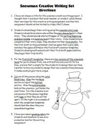 Winter English Teaching Resources and Lesson Plans For ...