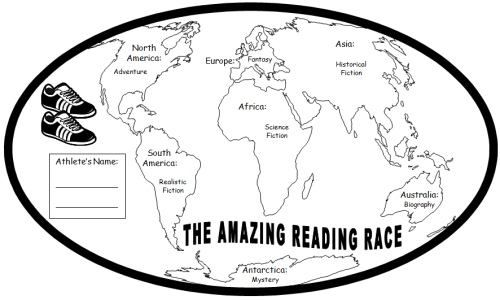 Reading Passports and Maps: The Amazing Reading Race