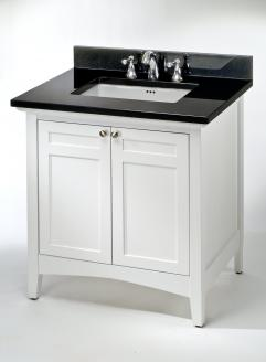 30 Inch Single Sink Shaker Style Bath Vanity Custom Options