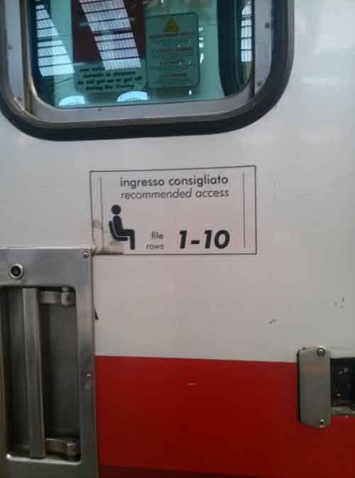 Come viaggiare comodamente in treno con Trenitalia trucchi