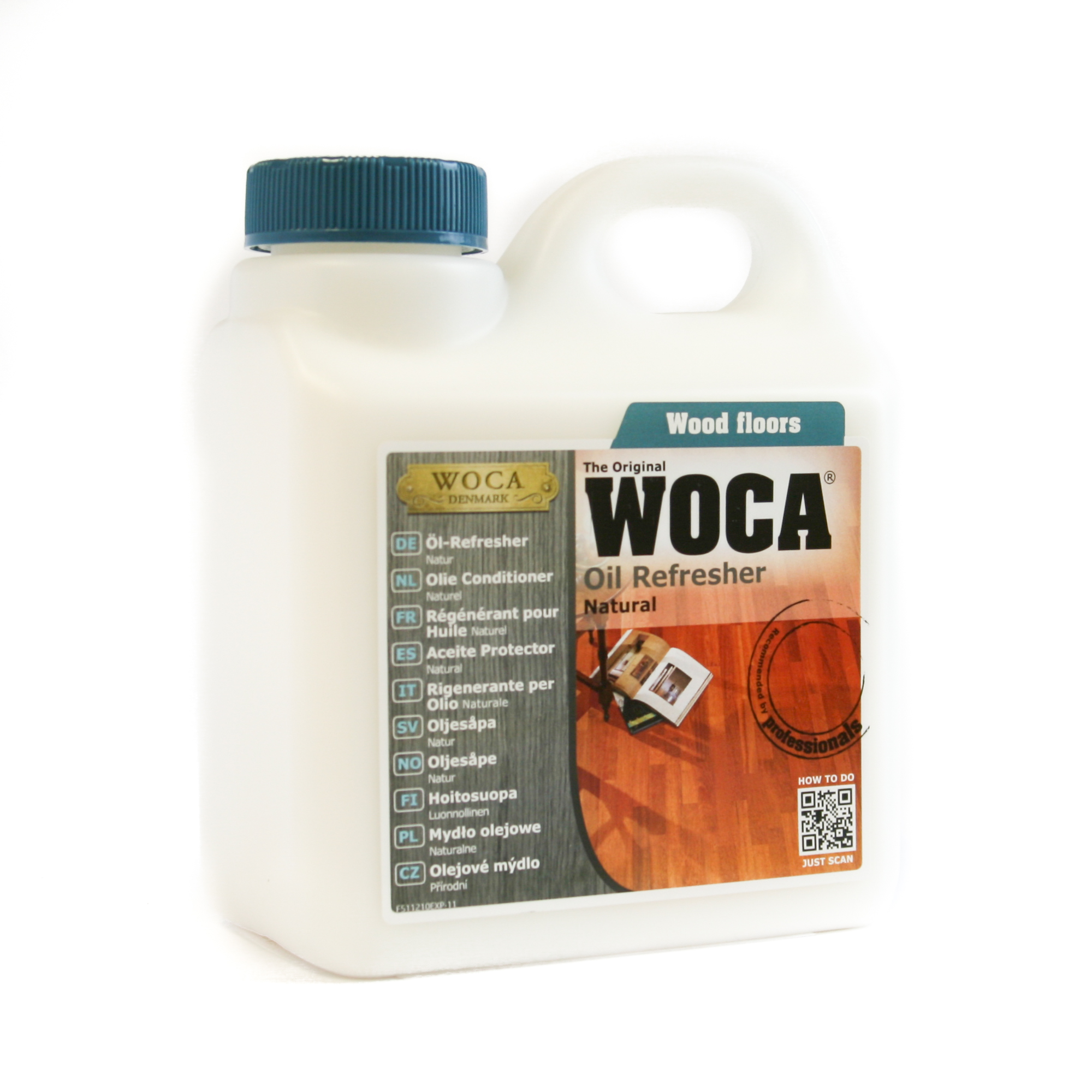WOCA Oil Refresher Will Refresh Your Floor  Unique Wood