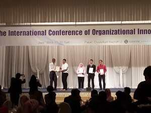 Unisbank Semarang raih Best Paper dalam ICOI Korea Selatan