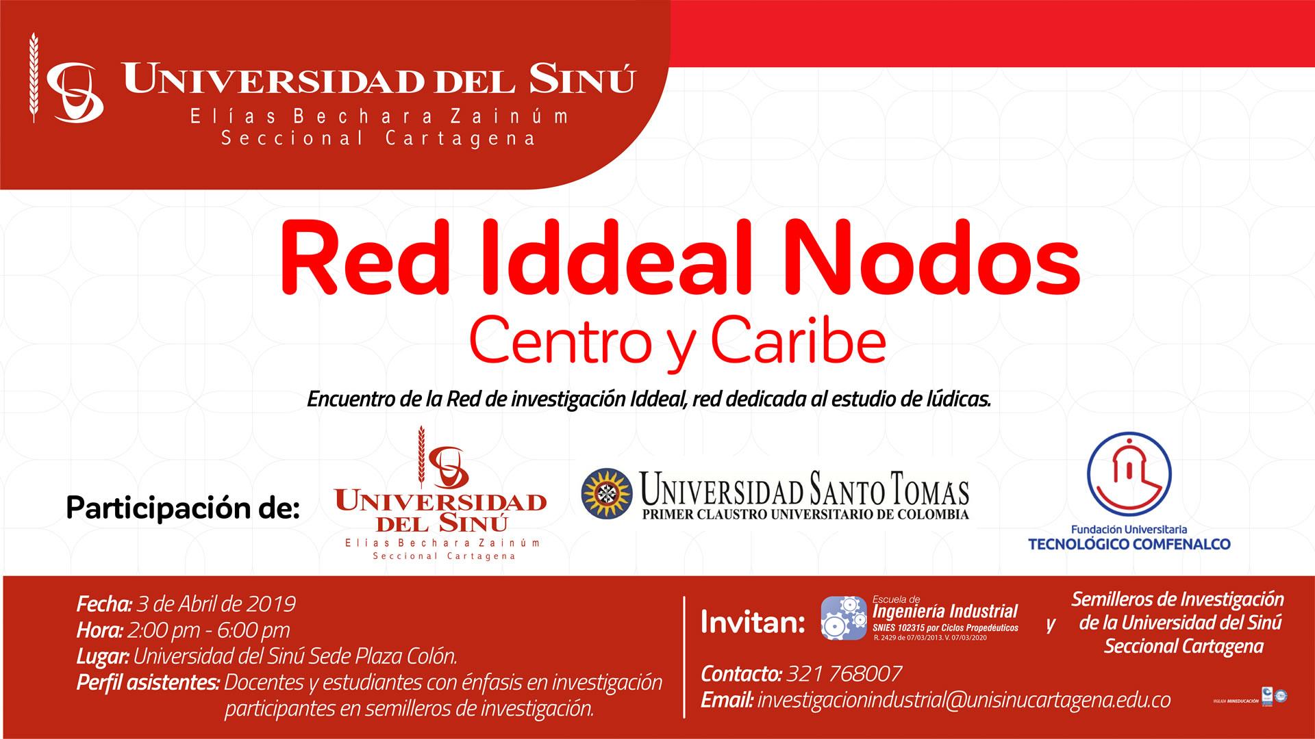 ENCUENTRO RED IDDEAL NODOS CENTRO Y CARIBE-2019-1p