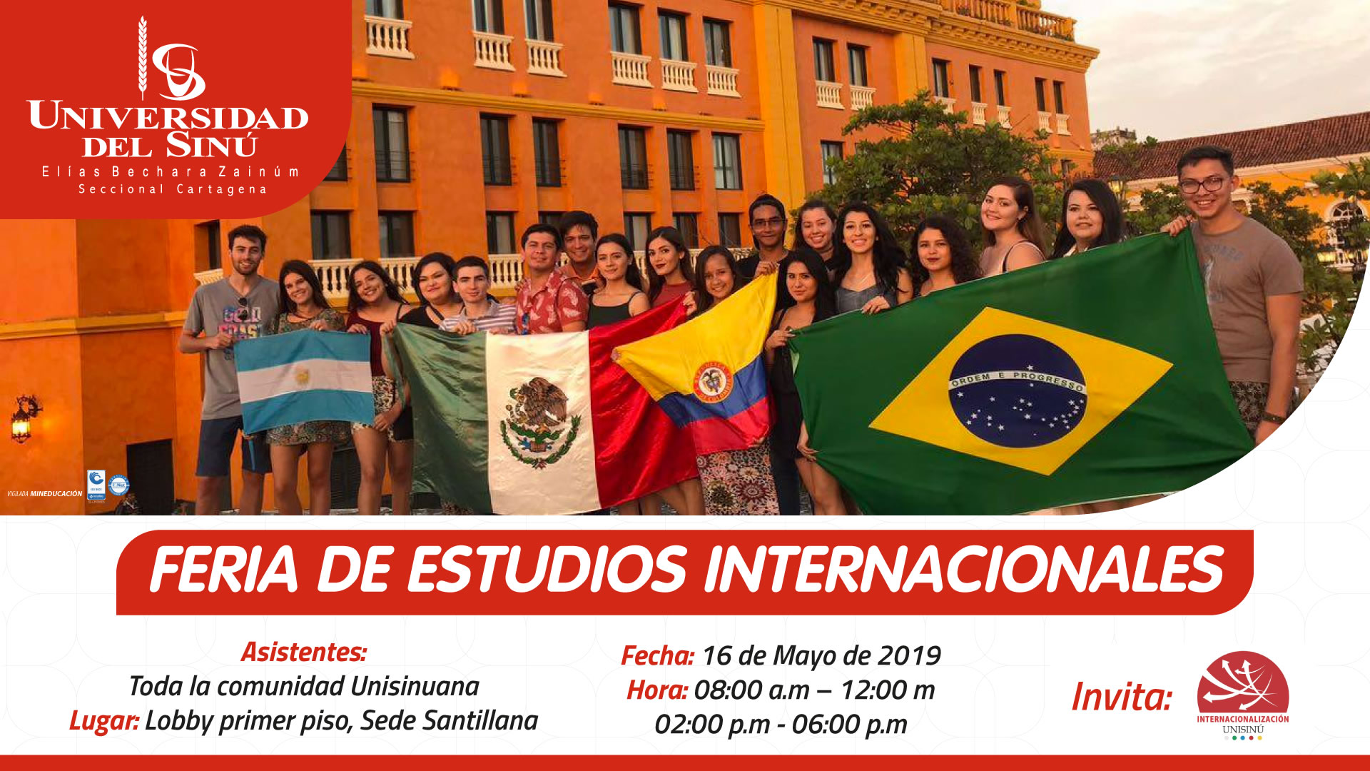FERIA DE ESTUDIOS INTERNACIONALES