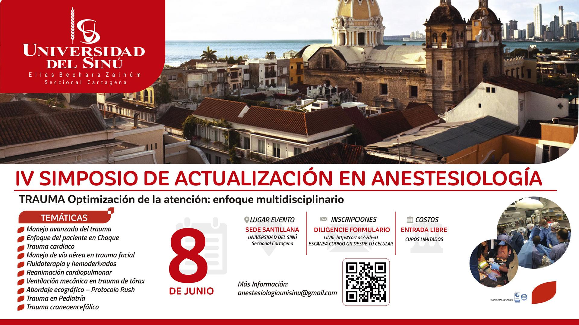 MONITORES IV simposio de actualizacion de anestesiologia