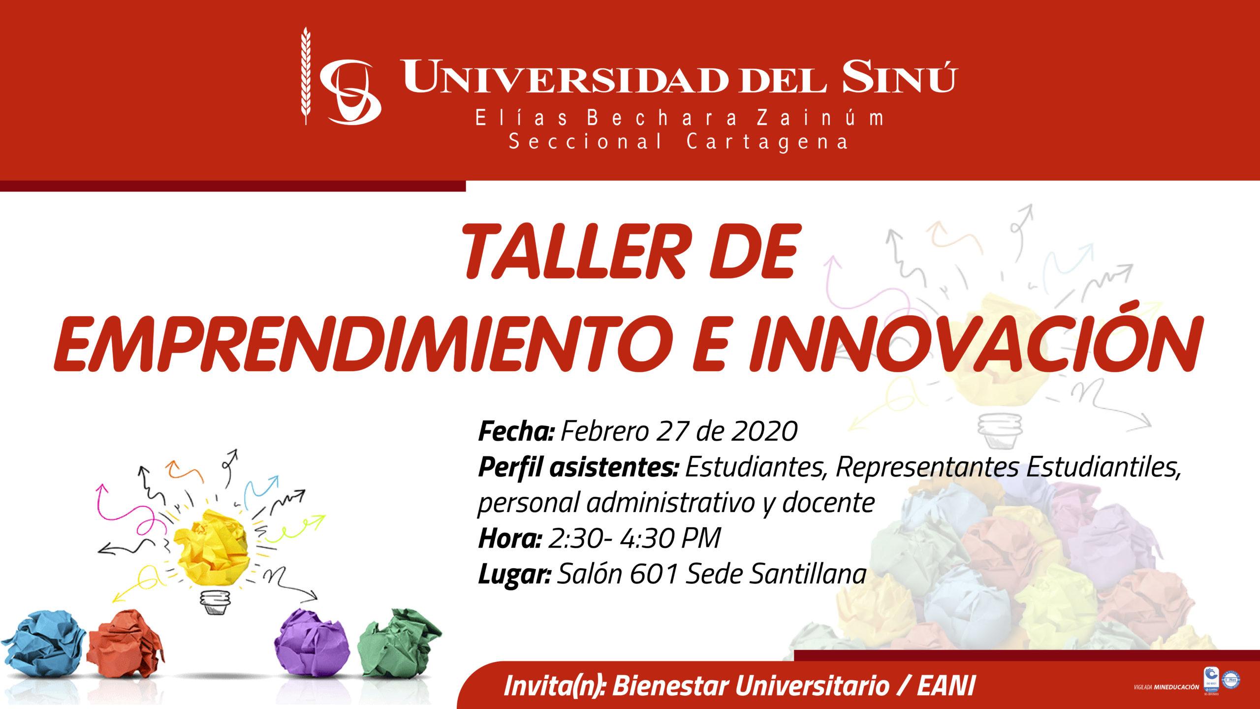 Taller de Emprendimiento e Innovación_Mesa de trabajo 1