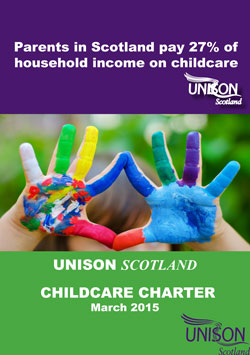 UNISON Scotland Childcare charter March 2015 image 2