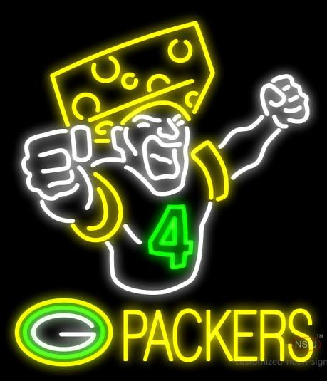 packers neon sign