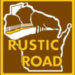rustic road in wisconsin