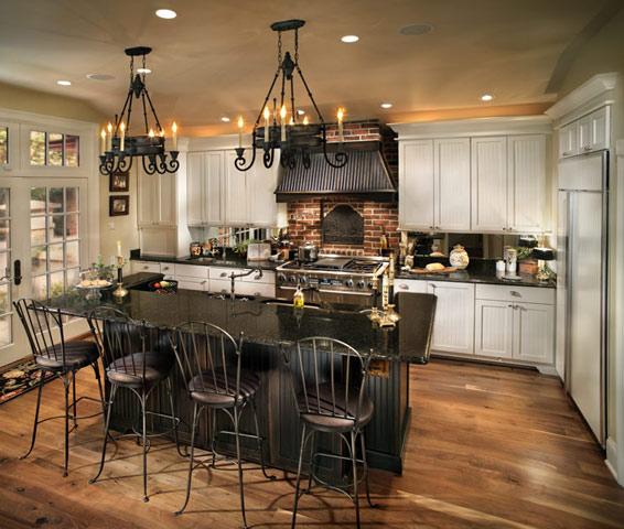 french bistro kitchen remodel