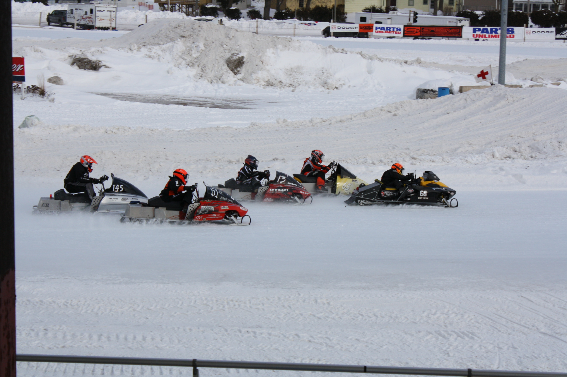 Eagle River snow mobiling