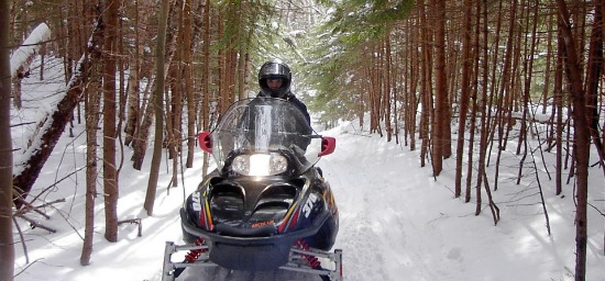 Townsend Lakewood Area snowmobiling