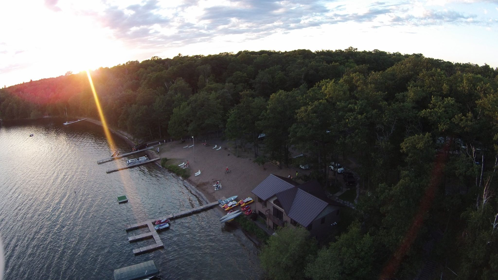 indian shores camping grounds in wisconsin