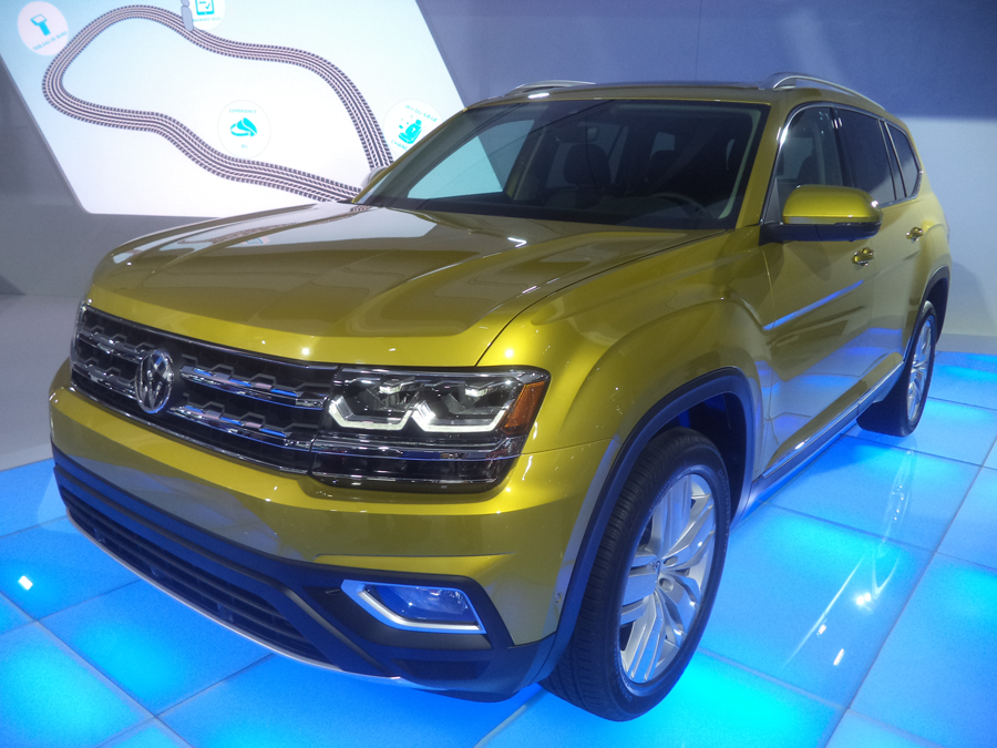 VW atlas family car