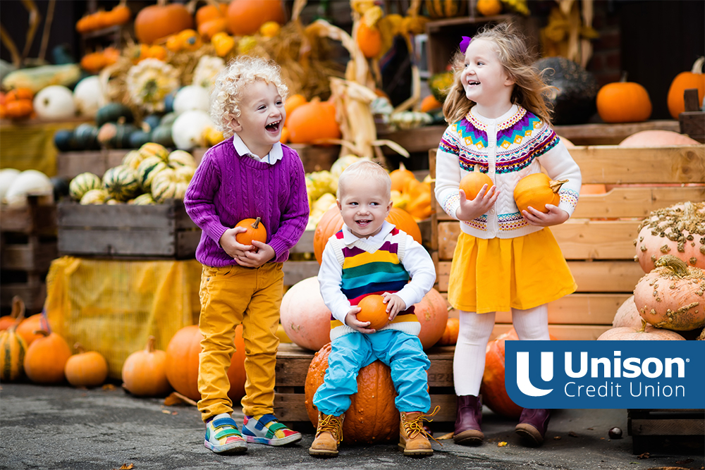 kids at fall activities