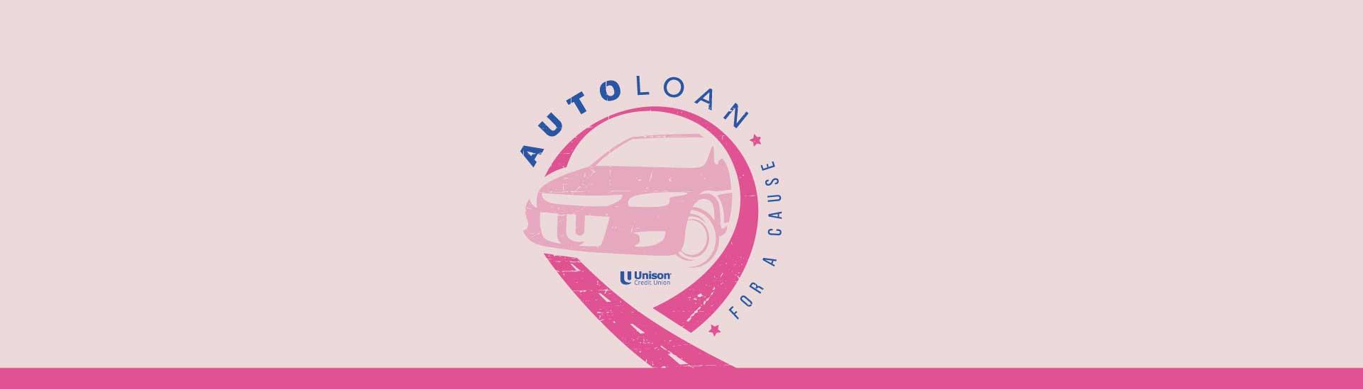 Auto Loan Pink Ribbon