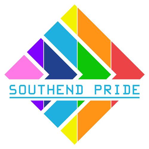Hyperlink graphic showing Southend Pride logo for sidebar widget.