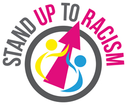 Stand Up To Racism logo