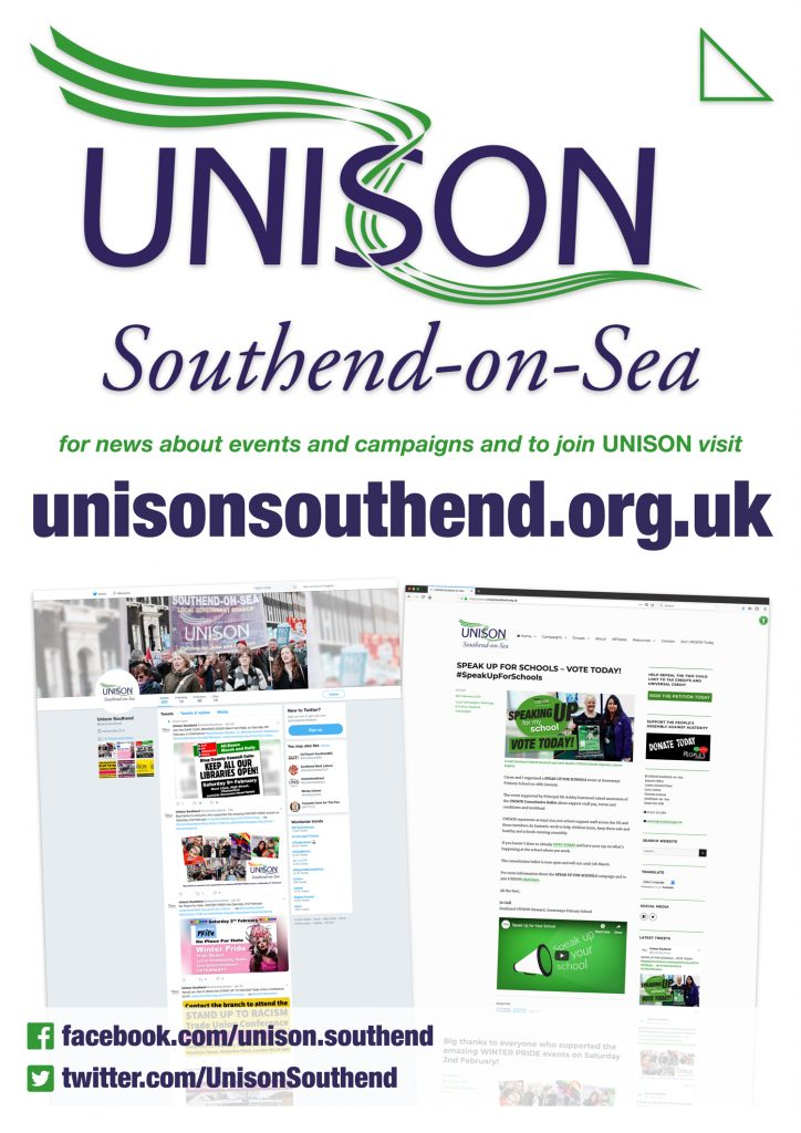 Southend UNISON AGM 2019 in pictures