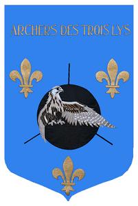 Les Archers des 3 Lys logo