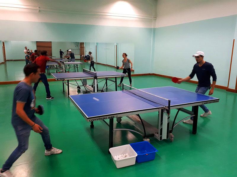ping-pong tennis de table